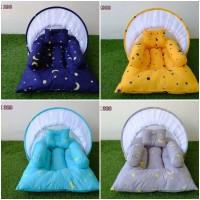 Kasur Bayi Lipat Kelambu - Tempat Tidur Bayi Motif KBLK308