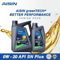Oli Aisin 0W 20 API SN+/ CF Fully Synthetic isi 1 ltr ASLI