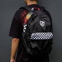 Vans Bagpack Black Checkerboard
