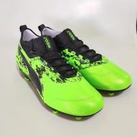 Sepatu Bola Original PUMA ONE 19.3 FG Green Gecko-Black