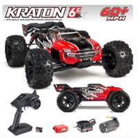 RC Car Monster Truck Brushless Speed Arrma Kraton 6S BLX 1/8 4WD