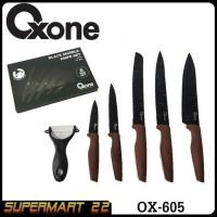 Pisau Set OXONE Black Marble OX-605 Knife Set