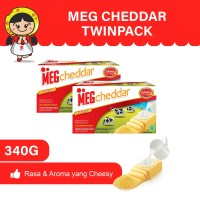 MEG Cheddar 165gr - Twin Pack