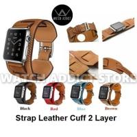 Strap Apple Watch Hermes 2in1 iWatch IWO 2 38mm / 42mm