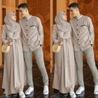 Baju couple muslim - Mocca