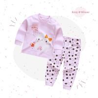 Baju Tidur Balita / Piyama Setelan Anak Usia 1-3 Tahun - SL03