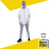Jas Hujan Jaket Celana Plevia 7001 Diamond bisa untuk APD / Hazmat - Ungu