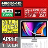 Apple iMAC 2020 512 GB SSD 27 inch 5K Intel i7 3.8GHz Resmi iBox MXWV2