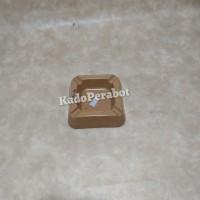 asbak melamine kotak - asbak motif granit - asbak vintage