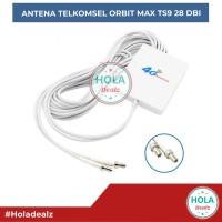 ANTENA TELKOMSEL ORBIT MAX HUAWEI B818 EKSTERNAL 4G LTE 28DBI ORIGINAL