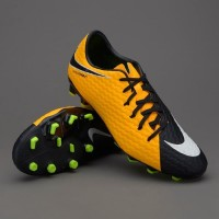 Sepatu Bola Nike hypervenom phelon III FG laser orange