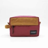 Tas Tangan Clutch Hand Bag Handbag Dompet - Journey Athena Maroon