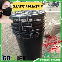 Ember 80 Liter Plastik Warna HITAM / Gentong bak air EMBER Mandi BESAR
