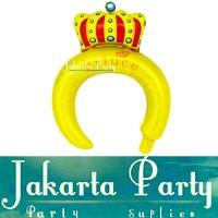 Balon Bando Karakter Crown Prince / Balon Foil Bando Anak