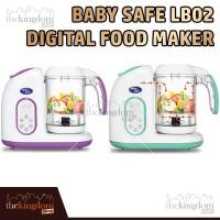 Baby Safe LB02B Digital Food Maker Alat Masak Kukus Makanan Anak Bayi