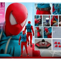 hot toys Spiderman scarlet spider suit