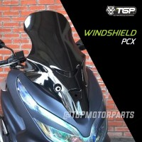 windshield PCX TGP Honda Aksesoris Variasi Visor Wind Shield Premium