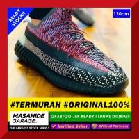 REINFORCED Shoelace REFLECTIVE Red Black ROUND TALI SEPATU YEEZY 120cm