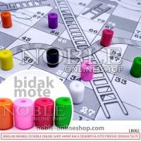 Bidak Mote Tabung-Pion-Pelengkap Board Game-Aksesoris-Toys-Ular Tangga