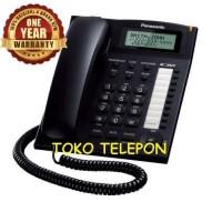 Telepon Rumah / Kantor Panasonic KX-TS880 / TS 885 / TS885 Hitam