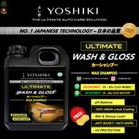 Shampo Sabun Cuci Mobil Motor YOSHIKI Wash & Gloss Shampoo Coating 1L