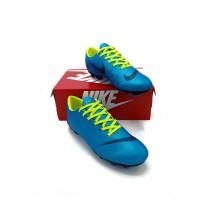Sepatu bola nike mercurial G.O hitam biru