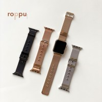 Roppu Stainless Steel With Buckle Strap For Apple Watch 1/2/3/4