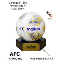 Bola Futsal MOLTEN Vantaggio 1500 (F9A1500-A) - ORIGINAL