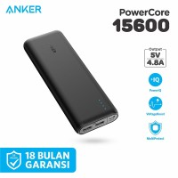 Powerbank Anker PowerCore 15600 mAh Black - A1252