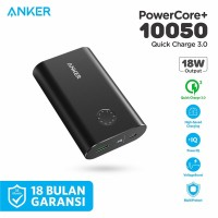 PowerBank Anker PowerCore+ 10050 mAh Quick Charge 3.0 Black - A1311
