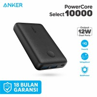 Powerbank Anker Powercore Select 10000mAh Black - A1223
