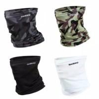 Masker Wajah Buff Bandana Head-Scarf Bahan Ice Silk Anti-UV SHIMANO