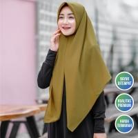 Hijab Segiempat Instan Bahan Diamond Crepe Premium Nuna Instan Nyaman