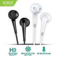 ROBOT Earphone/Headset Android/iPhone Garansi Resmi 1 Tahun - RE701