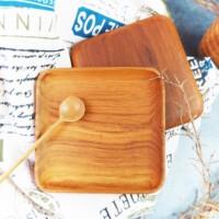 Maluk   piring kayu jati foodgrade premium nampan wadah kotak asbak