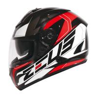 Helm ZEUS ZS 806 Matt Black II31 Red