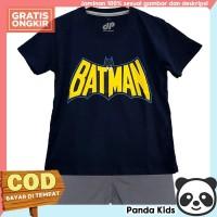 Panda Kids Setelan Anak Laki-Laki Lengan Pendek Motif Batman Navy - 1-2 tahun