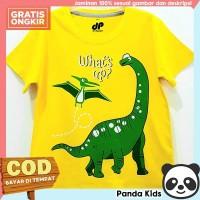 Panda Kids Baju/ Kaos Anak Laki-Laki Lengan Pendek Motif Dino WU
