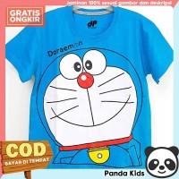 Panda Kids Baju/ Kaos Anak Laki-Laki Lengan Pendek Motif Doraemon - 1-2 tahun