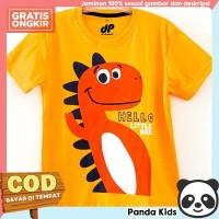 Panda Kids Baju/ Kaos Anak Laki-Laki Lengan Pendek Motif Hello Bee - 9-10 tahun