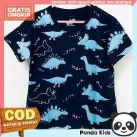 Panda Kids Baju/Kaos Anak Laki-Laki Lengan Pendek Motif Dino Fullprint - 1-2 tahun