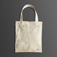 Tote Bag Kanvas Polos Stocklabs Company Broken White