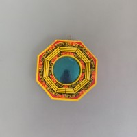 Kaca pat kua pakua cembung pat kwa tolak bala buddhist Bagua mirror