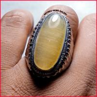 Batu Pandan Sutra Lemon. batu kalimaya batu kecubung batu anggur obi