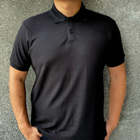 Ozuko Polo Shirt Premium Quality - Black