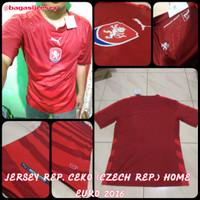 Jersey Negara Ceko Home 2016 Kit Baju Bola Kandang 2017 Czech Republic