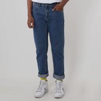 Edwin Celana Jeans Vegas 08 Reguler Fit Pria Panjang Blue