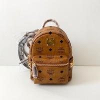 MCM bebeboo mini backpack cognag