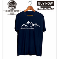 Kaos Baju Rindu Embun Pagi Pendaki Gunung Hiking Outdoor Sport