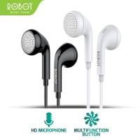 ROBOT Earphone/Headset Android/iPhone Garansi Resmi 1 Tahun - RE601